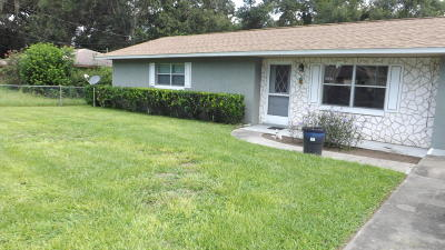 Belleview Single Family Home For Sale: 6045 SE 119th Place