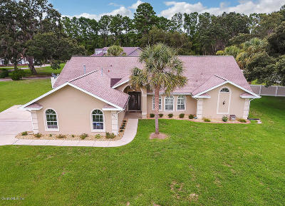 Silver Springs Single Family Home For Sale: 5953 NE 62nd Court Road