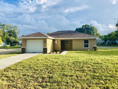 Citra FL Single Family Home For Sale: $120,000