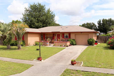 Ocala Single Family Home For Sale: 14872 SW 35th Circle