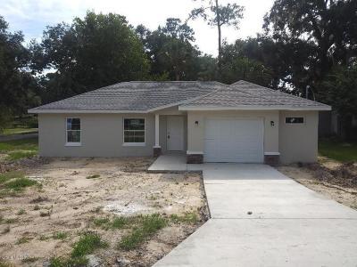 Ocala Single Family Home For Sale: 239 NE 12th Terrace
