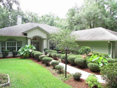 Dunnellon Single Family Home For Sale: 9531 SW 189th Court