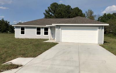 Ocala Single Family Home For Sale: 13 Teak Loop Place