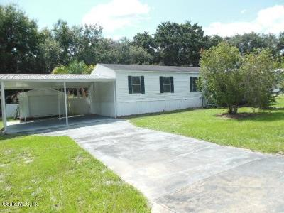 Summerfield Mobile/Manufactured For Sale: 17058 SE 95th Court