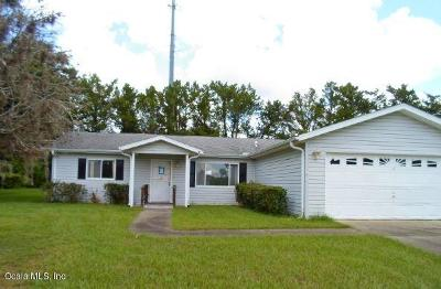 Summerfield Single Family Home For Sale: 10263 SE 176th