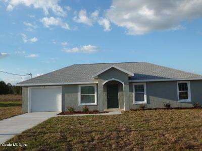 Ocklawaha Single Family Home Pending: 49 Maple Drive