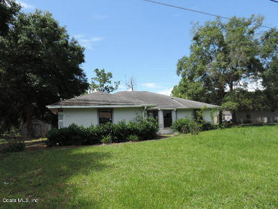 Belleview Single Family Home For Sale: 5890 SE 125th Place