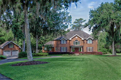 Ocala FL Single Family Home For Sale: $1,200,000