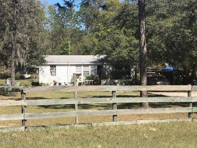 Ocala Mobile/Manufactured For Sale: 16055 SW 47th Place Road