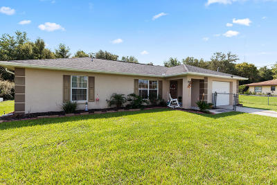 Belleview Single Family Home For Sale: 11691 SE 84th Terrace