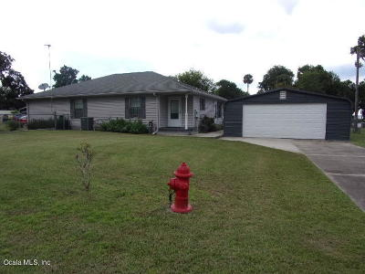 Marion County Single Family Home For Sale: 9445 NE 306 Court