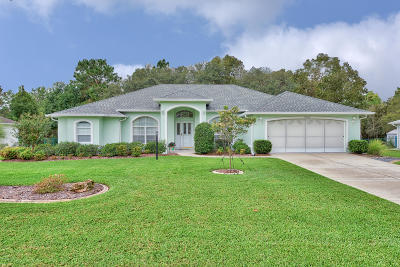 Ocala Single Family Home For Sale: 10900 SW 53rd Circle
