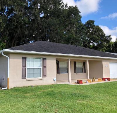 Ocala Single Family Home For Sale: 4698 NW 46th Avenue
