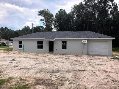 Ocala Single Family Home For Sale: 12955 SW 54th Court