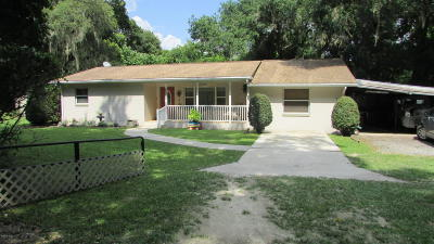Reddick Single Family Home Pending: 15575 NW 41st Avenue