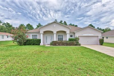 Ocala FL Single Family Home For Sale: $178,750