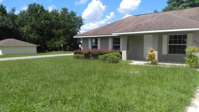 Ocala FL Single Family Home For Sale: $113,000