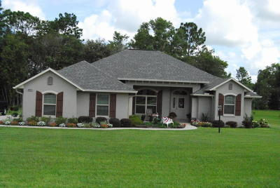 Ocala Single Family Home For Sale: 10836 SW 53rd Circle