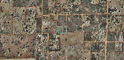 Williston FL Residential Lots & Land For Sale: $18,000