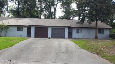 Citrus County, Levy County, Marion County Rental For Rent: 520 SE 30th Street