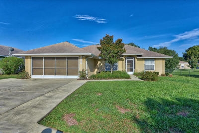 Ocala FL Single Family Home For Sale: $159,500