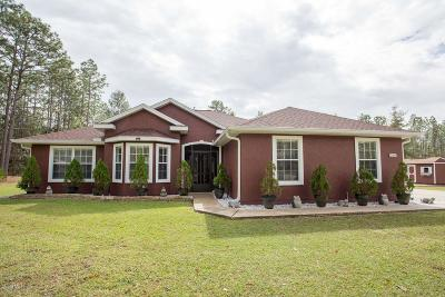 Ocala Single Family Home For Sale: 12280 SW 61st Place Road Road