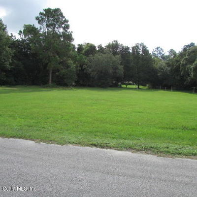 Dunnellon Residential Lots & Land For Sale: SW 202 Avenue