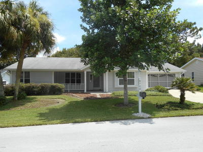 Ocala Single Family Home For Sale: 8540 SW 108 Ln Road