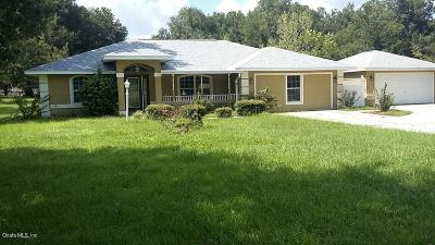 Summerfield Single Family Home For Sale: 2607 SE 156th Place Road