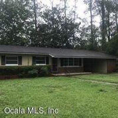 Ocala Single Family Home For Sale: 562 NE 21st Terrace