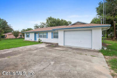 Belleview Single Family Home For Sale: 7202 SE 25 Highway