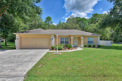 Belleview Single Family Home For Sale: 8545 SE 120th Place