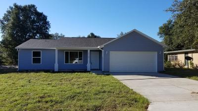 Dunnellon Single Family Home For Sale: 20180 SW 80th Pl Road