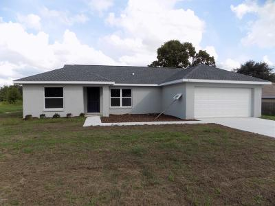 Ocala Single Family Home For Sale: 83 Juniper Trail Loop