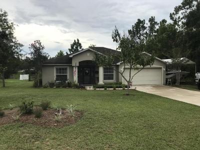 Ocala Single Family Home For Sale: 66 Fir Drive