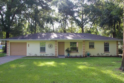 Ocala Single Family Home For Sale: 6395 NW 61st Avenue