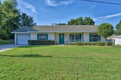 Ocala Single Family Home For Sale: 100 Pecan Course Circle