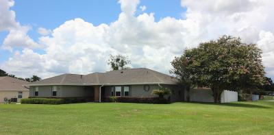 Ocala Single Family Home For Sale: 3160 SE 54th Court