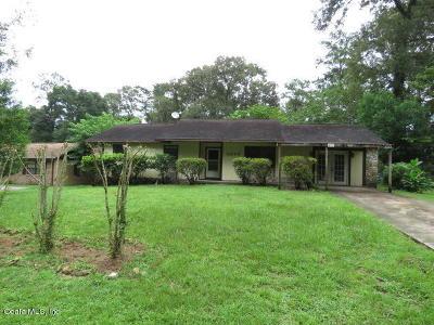Ocala Single Family Home For Sale: 3645 NE 18th Court