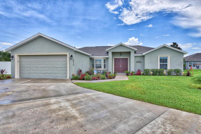 Ocala Single Family Home For Sale: 4936 SW 98th Place