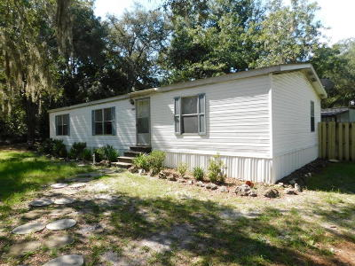 Dunnellon Mobile/Manufactured For Sale: 7400 SW 155th Street
