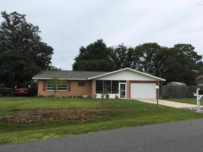 Ocala Single Family Home For Sale: 489 Lake Road