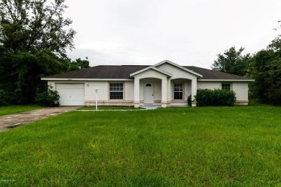 Citrus County, Levy County, Marion County Rental For Rent: 14544 SW 45th Circle