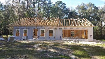 Micanopy Single Family Home For Sale: 20944 NW 100th Avenue Road
