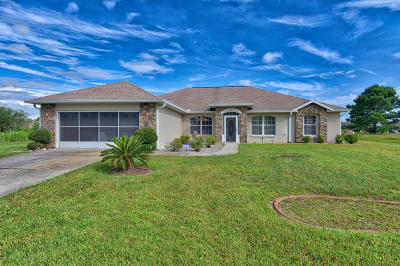 Ocala FL Single Family Home For Sale: $250,000