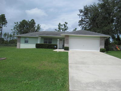 Marion County Single Family Home For Sale: 62 Bahia Trace Course