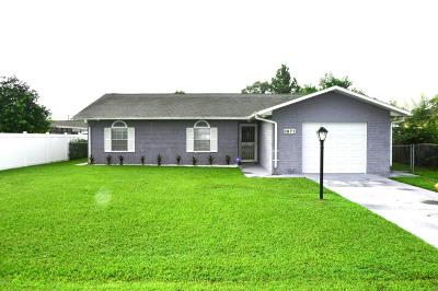 Ocala FL Single Family Home For Sale: $124,999