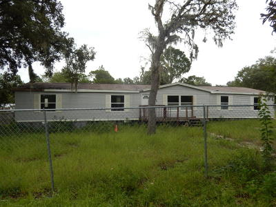 Dunnellon Mobile/Manufactured For Sale: 5225 SW 181 Ct