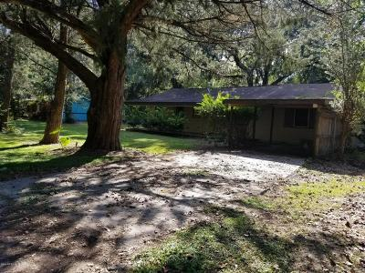 Williston FL Single Family Home For Sale: $55,000