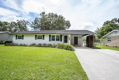 Ocala Single Family Home For Sale: 3030 SE 13th Street